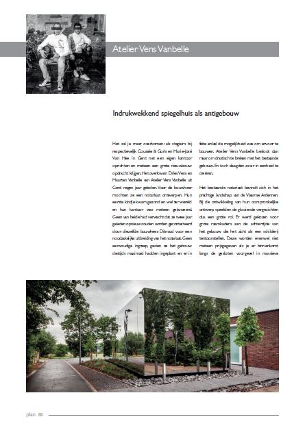 Atelier Vens Vanbelle, PLAN